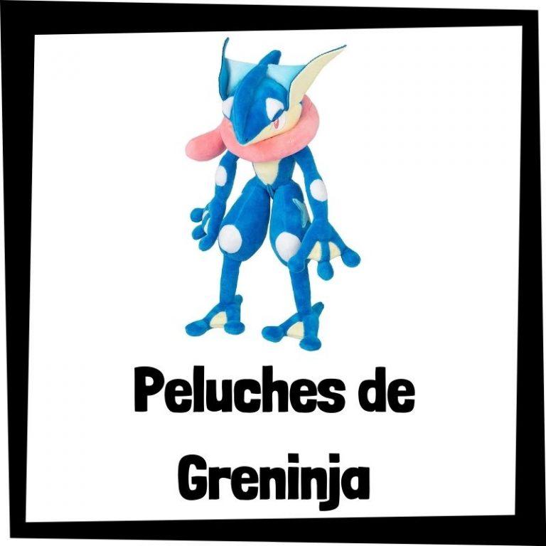 Los mejores peluches de Greninja