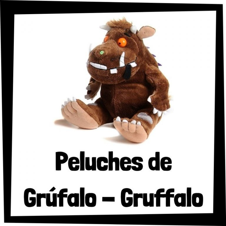Los mejores peluches de Grúfalo – The Gruffalo