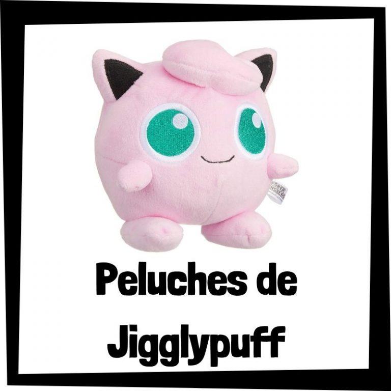 Los mejores peluches de Jigglypuff