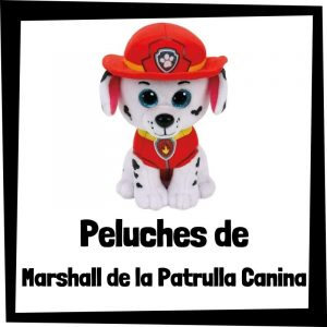 Peluches baratos de Marshall de la patrulla canina - Los mejores peluches de Marshall - Peluche de la patrulla canina barato