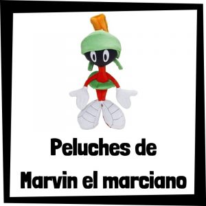 Peluches baratos de Marvin el marciano de los Looney Tunes - Los mejores peluches de los Looney Tunes