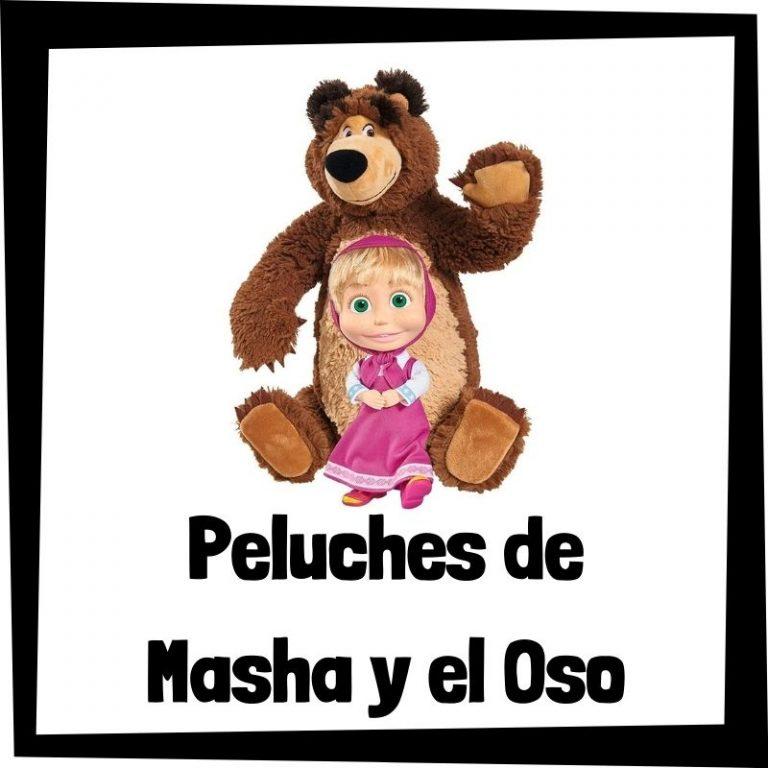 Los mejores peluches de Masha y el oso