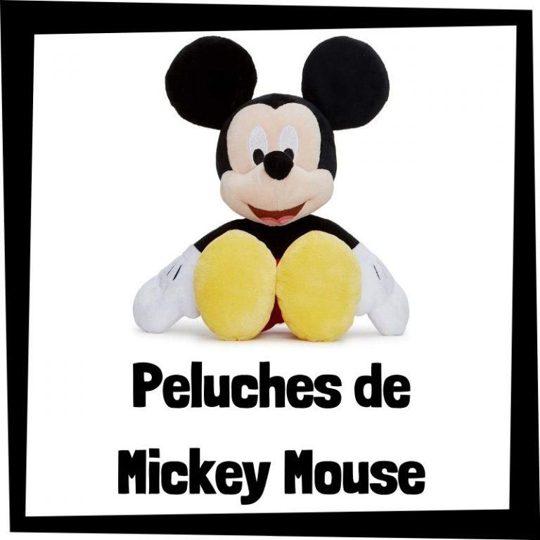 Los mejores peluches de Mickey Mouse