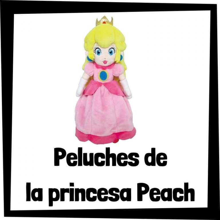 Los mejores peluches de Peach