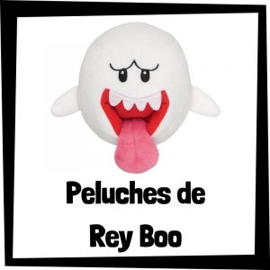 Peluches baratos de Rey Boo de Nintendo - Los mejores peluches de Rey Boo - Peluches de personajes de Mario Bros