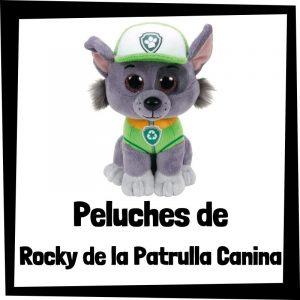 Peluches baratos de Rocky de la patrulla canina - Los mejores peluches de Rocky - Peluche de la patrulla canina barato