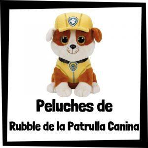 Peluches baratos de Rubble de la patrulla canina - Los mejores peluches de Rubble - Peluche de la patrulla canina barato