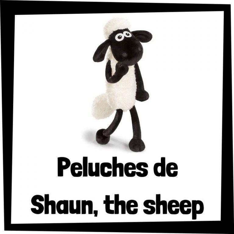 Los mejores peluches de Shaun the Sheep