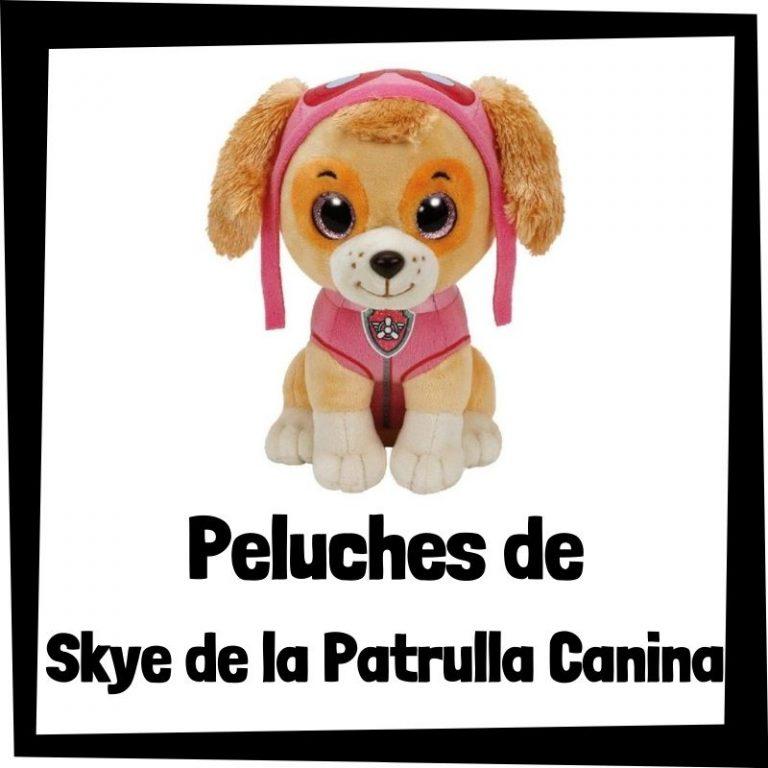 Los mejores peluches de Skye de la Patrulla Canina