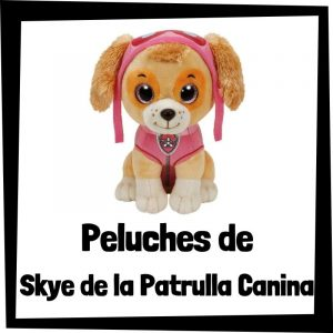 Peluches baratos de Skye de la patrulla canina - Los mejores peluches de Skye - Peluche de la patrulla canina barato