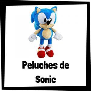 Los mejores peluches de Sonic el erizo