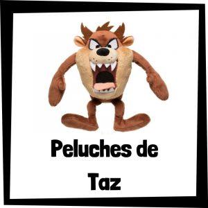 Peluches baratos de Taz de los Looney Tunes - Los mejores peluches de los Looney Tunes