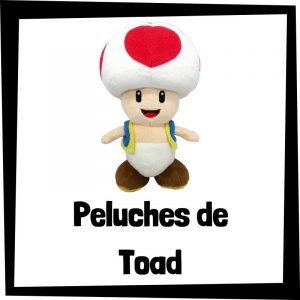 Peluches baratos de Toad de Nintendo - Los mejores peluches de Toad - Peluches de personajes de Mario Bros
