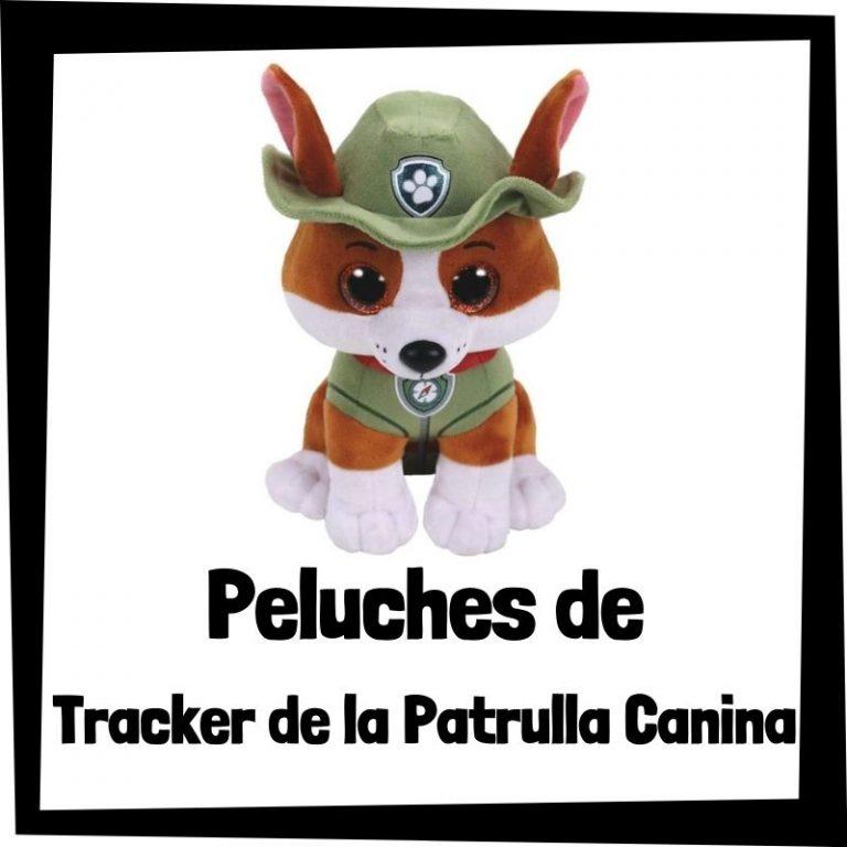 Los mejores peluches de Tracker de la Patrulla Canina
