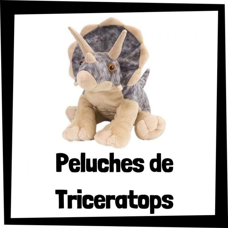 Los mejores peluches de Triceratops