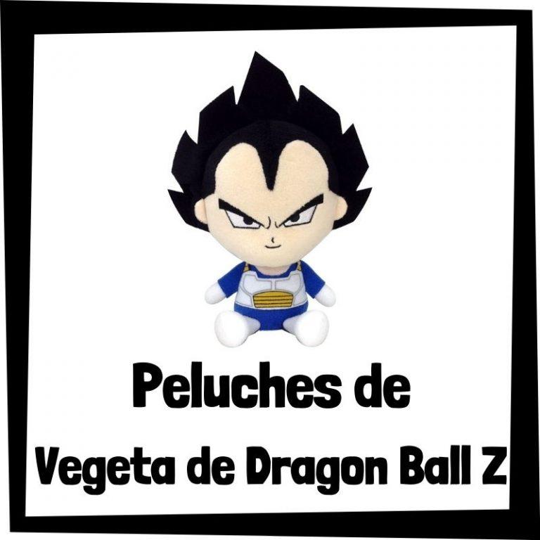Los mejores peluches de Vegeta de Dragon Ball Z