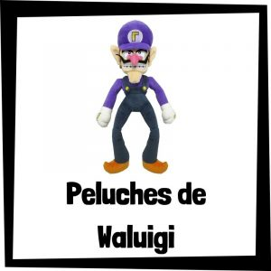 Peluches baratos de Waluigi de Nintendo - Los mejores peluches de Waluigi - Peluche de Waluigi barato de felpa