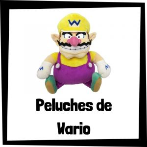 Peluches baratos de Wario de Nintendo - Los mejores peluches de Wario - Peluches de personajes de Mario Bros