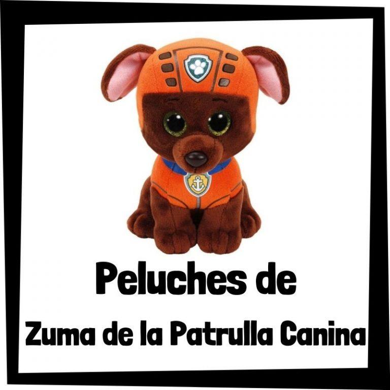 Los mejores peluches de Zuma de la Patrulla Canina