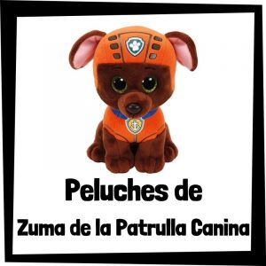 Peluches baratos de Zuma de la patrulla canina - Los mejores peluches de Zuma - Peluche de la patrulla canina barato
