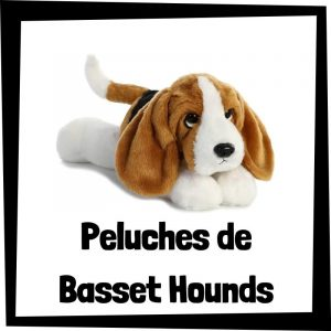 Peluches baratos de basset hounds - Los mejores peluches de perros - Peluche de Basset hound barato de felpa