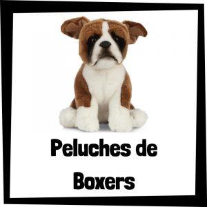 Peluches baratos de boxers - Los mejores peluches de perros - Peluche de Bóxer barato de felpa