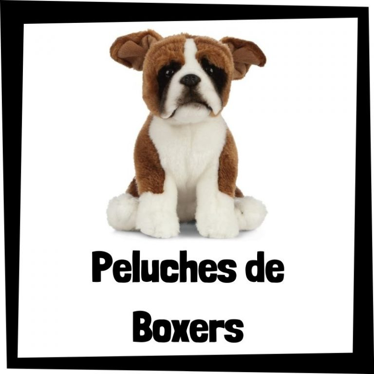 Los mejores peluches de boxers