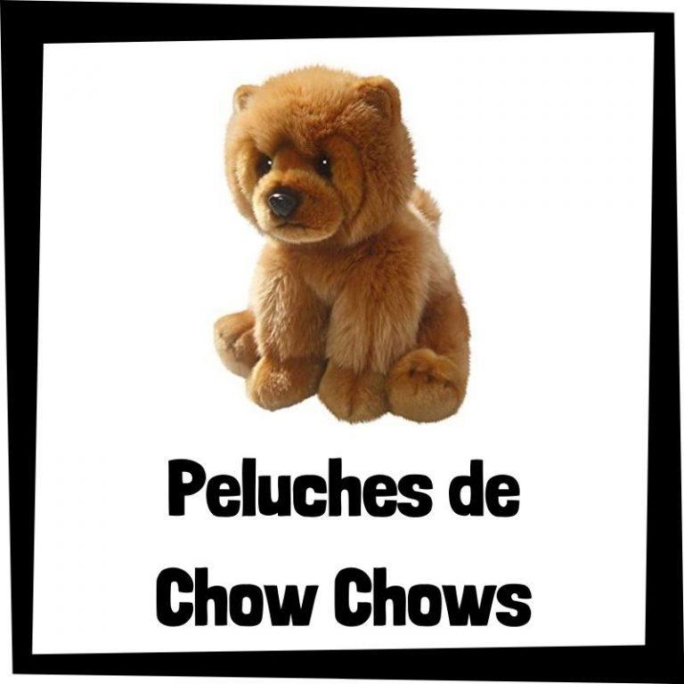 Los mejores peluches de chow chows
