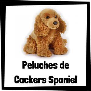Peluches baratos de cockers spaniel - Los mejores peluches de perros - Peluche de Cocker spaniel perro barato de felpa