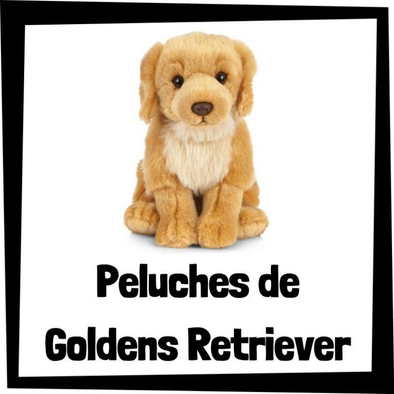 Los mejores peluches de goldens retriever