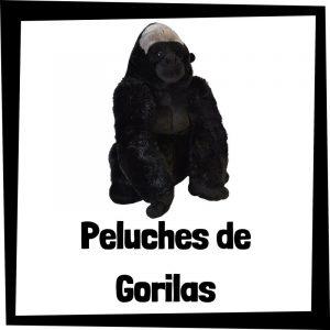 Peluches baratos de gorilas - Los mejores peluches de monos - Peluche de mono barato de felpa