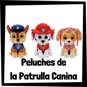 Peluches baratos de la patrulla canina - Los mejores peluches de la Patrulla Canina - Paw Patrol - Peluche de la patrulla canina barato de felpa