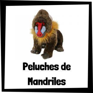 Peluches baratos de mandriles - Los mejores peluches de monos - Peluche de mono barato de felpa