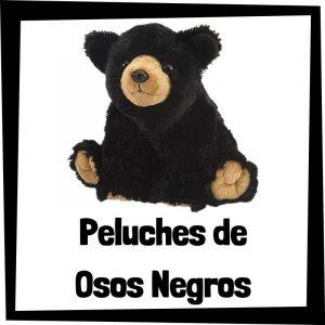 Peluches baratos de oso negro - Los mejores peluches de osos - Peluche de oso barato de felpa