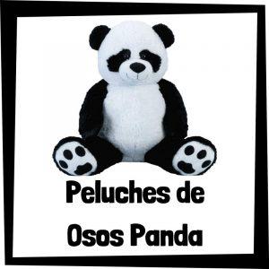 Peluches baratos de oso panda - Los mejores peluches de osos - Peluche de oso barato de felpa