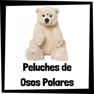 Peluches baratos de oso polar - Los mejores peluches de osos - Peluche de oso barato de felpa