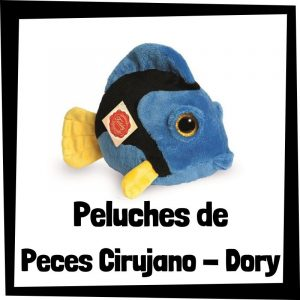 Peluches baratos de peces cirujano Dory - Los mejores peces de bisontes - Peluche de pez barato de felpa