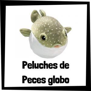 Peluches baratos de peces globo - Los mejores peces de bisontes - Peluche de pez barato de felpa