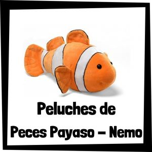 Peluches baratos de peces payaso Nemo - Los mejores peces de bisontes - Peluche de pez barato de felpa