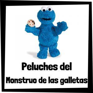 Peluches baratos del monstruo de las galletas de Barrio Sésamo - Los mejores peluches del monstruo de las galletas de Barrio Sésamo - Peluche de Barrio Sésamo barato de felpa