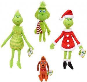 Set de Peluches del Grinch de 30 cm - Los mejores peluches de Grinch - Peluches de Grinch