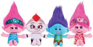 Set de peluches de Trolls de 20 cm - Los mejores peluches de Trolls - Peluches de dibujos animados