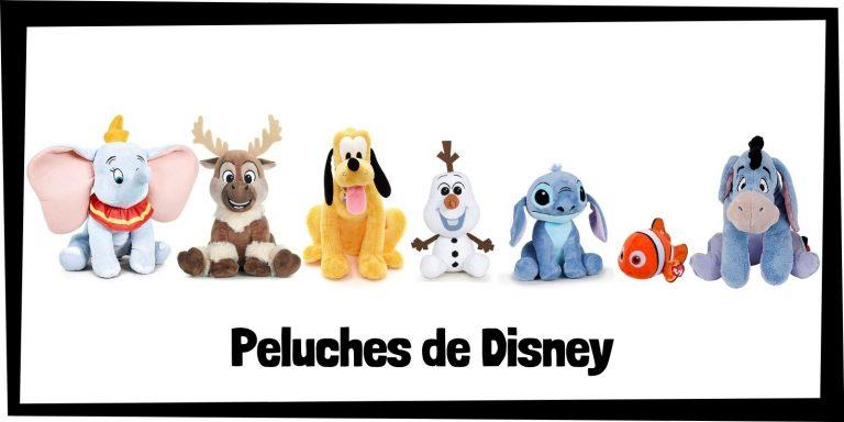 Los mejores peluches de Disney - Colección de peluches de Disney - Peluche de Disney