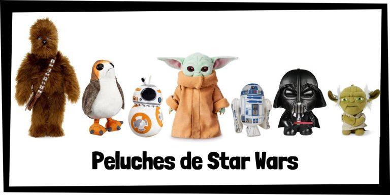 Los mejores peluches de Star Wars - Colección de peluches de Star Wars - Peluche de Star Wars