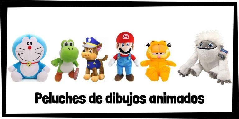 Los mejores peluches de dibujos animados - Colección de peluches de dibujos animados - Peluche de dibujo animal