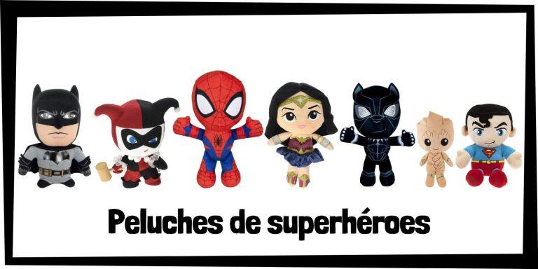 Los mejores peluches de superhéroes de Marvel y DC - Colección de peluches de superhéroes - Peluche de Marvel y DC