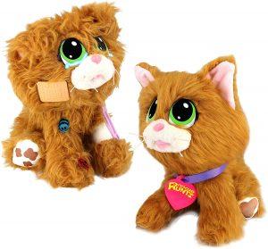 Peluche de Gato rojo para Adoptar - Los mejores peluches de Rescue Runts - Peluches de animales de Rescue Runts