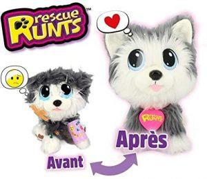 Peluche de Husky para Adoptar - Los mejores peluches de Rescue Runts - Peluches de animales de Rescue Runts