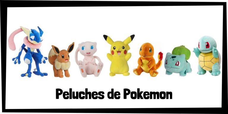 Los mejores peluches de Pokemon - Colección de peluches de Pokemon - Peluche de Pokemon