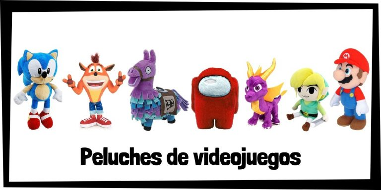 Los mejores peluches de videojuegos - Colección de peluches de videojuegos y videogames - Peluche de videojuego